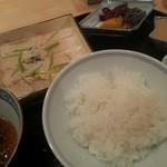 一直 - 鯛茶漬け1890円