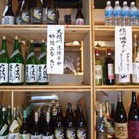 信州地酒や信州ワインなど、大阪では珍しいお酒をご用意。