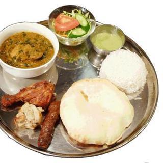 本格的な南インドの軽食!