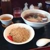 彩龍華 - 料理写真:半炒・拉麺セット@700
