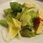 TRATTORIA AL SODO  - パスタランチのサラダ