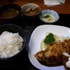 たいら - 料理写真:焼とんかつとエビフライ定食