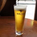 ラウラウ - ビール250円。