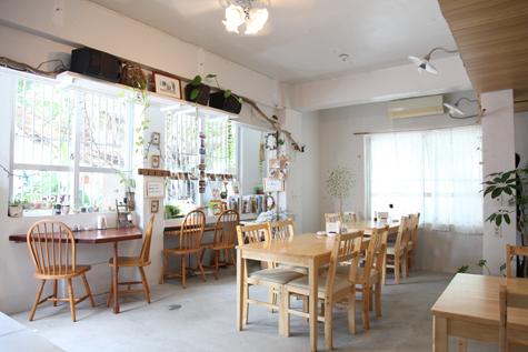 内観写真:cafe Natura