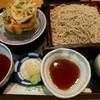 たつ吉そば処 - 料理写真:かきあげせいろ@1,000