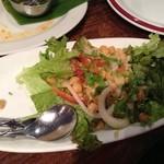 ダバインディア - ひよこ豆と玉ねぎのサラダ¥530