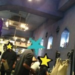 ダバインディア - 青を基調とした店内