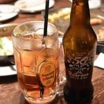 ステーキ カフェ ケネディ - ガラナボール(ウイスキー割り)