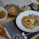 TuBo cafe - 野菜あんかけプレート