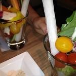 美山cafe - サラダバー