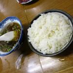 おかめ - ライス200円