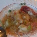 中国レストラン 蘇州 - 伊勢海老の葱生姜炒め(オーダーバイキング)