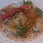 中国レストラン 蘇州 - タラバ蟹のXO醤炒め(オーダーバイキング)