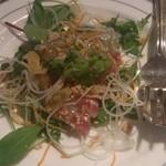 中国レストラン 蘇州 - 鯛のカルパッチョ(オーダーバイキング)