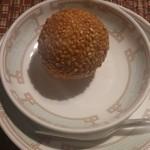 中国レストラン 蘇州 - 胡麻付き揚げ団子(オーダーバイキング)