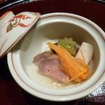 鉄板懐石 宴 - 2013.08 冷製炊き合わせ