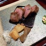 鉄板懐石 宴 - 2013.08 牛ヒレステーキ