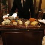 リストランテ ASO - さすがリストランテ、チーズはワゴンで。