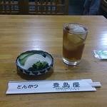 豊島屋 - 料理写真:おしんこ