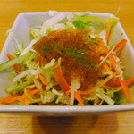 松任製麺 - 食前サラダ