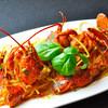 ガシーヨ・デル・マーレ - 料理写真:今や、看板メニューのオマール海老のパスタ(