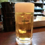 とん平 - 生ビール(\450)