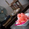 アナログ - 料理写真:日光天然水のカキ氷(いちご) 大盛り