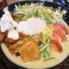 Momoya - 料理写真:からあげ冷麺大盛り¥980