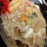 らーめん 軽菜 - 五目焼きそば 1100円 大盛り 150円