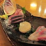 魚金 - 780円『ブツ盛り(ひとり用) 』2013年8月吉日