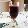 ア・マ・ファソン - ドリンク写真:ブルーベリージュース