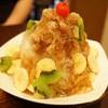 三徳堂 - 料理写真:夏一跳かき氷(シャイティァオ・1200円)