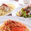 カプリチョーザ - 料理写真:渡り蟹のトマトクリームスパゲティ