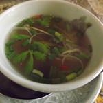 タイ料理研究所 - トムヤンクン的なスープ