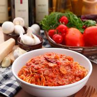 カプリチョーザ - トマトとニンニクのスパゲティ