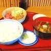 やす川 - 料理写真:まぐろ納豆定食
