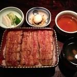 野田岩 - 鰻重 寿