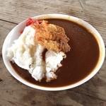 グロース - グロース@一湊海水浴場て屋久島カレー。海の家で食べるランチは美味しいね。