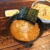環七ラーメン 周麺 - 料理写真:環七つけ麺780円。切り刃12番の極太自家製麺。背油の香りに甘味、酸味。竿上質の背油ちゃっちゃ。