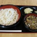 道の駅 かわもと - 『肉汁うどん』(550円)