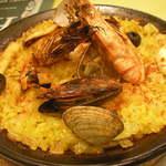 パセパセ - 魚貝のパエジャ