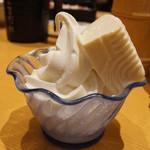 旬菜しゃぶ重 - 料理写真:トッピングするものがなかったので試しに豆腐のっけた