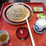 蕎麦古家 - もりそば大盛¥1100