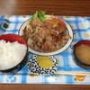 レストハウス キング - 料理写真:ランチ、生姜焼きB650円