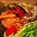 タナカクマキチ。 - 豆腐ハンバーグは甘めの味付け