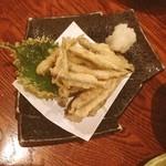 魚圓 - 稚鮎の天ぷら(*^_^*)おいし。