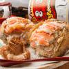 和ごころ 桜彩 - 料理写真:蟹みその残った甲羅にほぐした蟹身を詰め込んで軽く蒸し焼きしました。超目玉の1280円(1382円税込)です