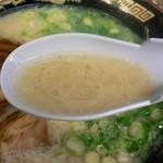 麺屋・千寿 - スープはこんな感じ