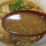 丸髙家 - 旨味噌のスープ^^美味い^^