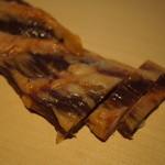 デュッセル - 2013.08スモークリブ。軟骨部分の燻製です。